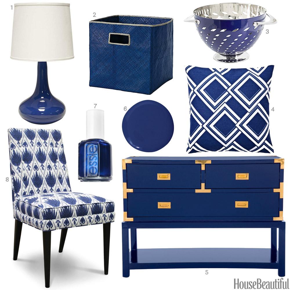 Sapphire Blue Accessories Sapphire Blue Home Decor