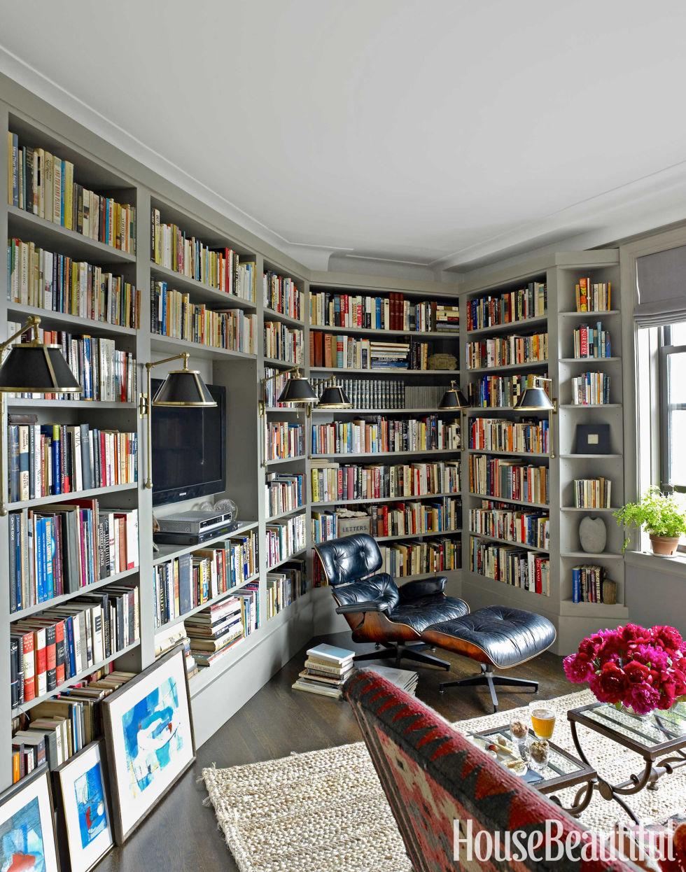 Modern House Library Design Zion Star