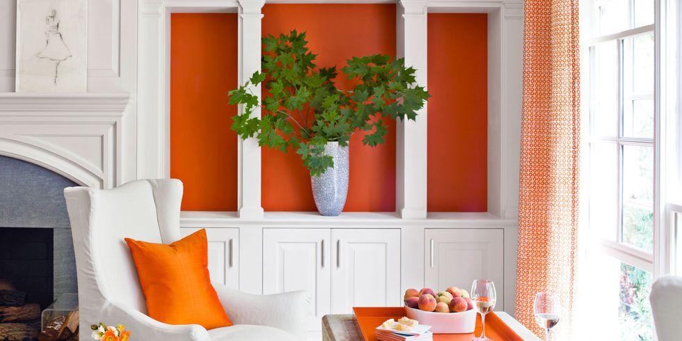 Decorating With Orange Accents Orange Home Decor