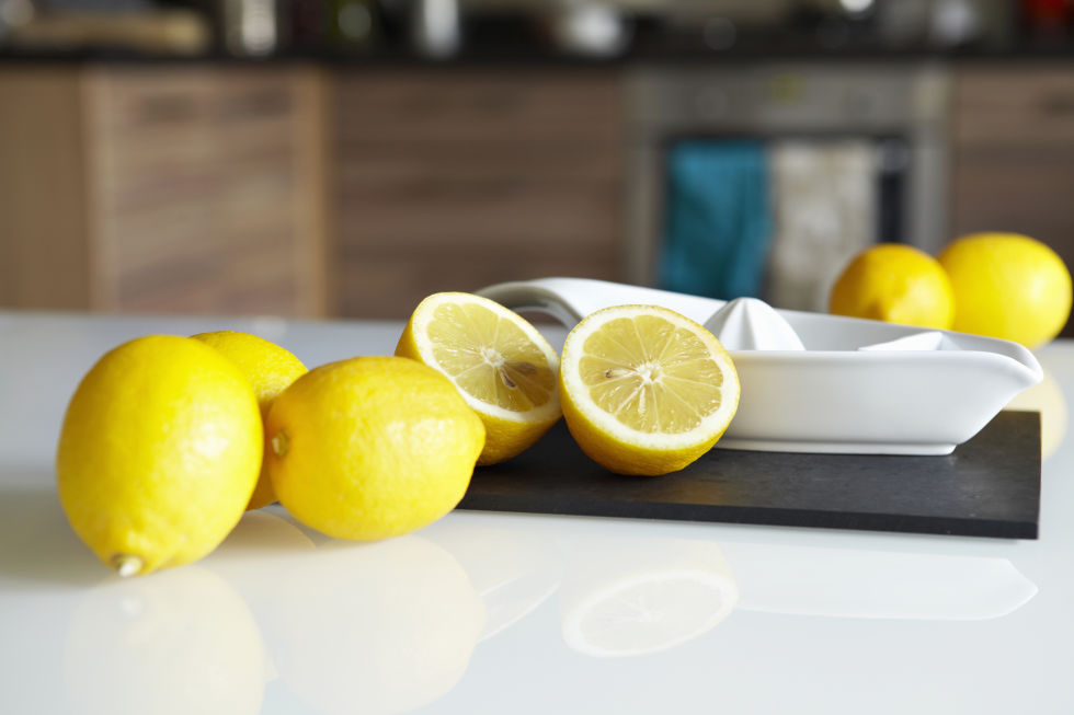 """If you have half a lemon leftover, use it to clean stainless steel fixtures and faucets,"" says Donna Smallin, cleaning expert at Unclutter.com. ""Rub it over the areas you want to clean, then wipe them down with a microfiber cloth."""