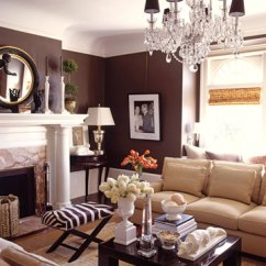 What Colour Walls With Brown Leather Sofa Broyhill Nebraska Furniture Mart Home Decor Ideas By Demattei And Wade