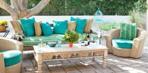 Colorful Outdoor Patio Decor