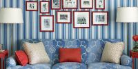 Patriotic Decor for 4th of July - Red, White, and Blue ...