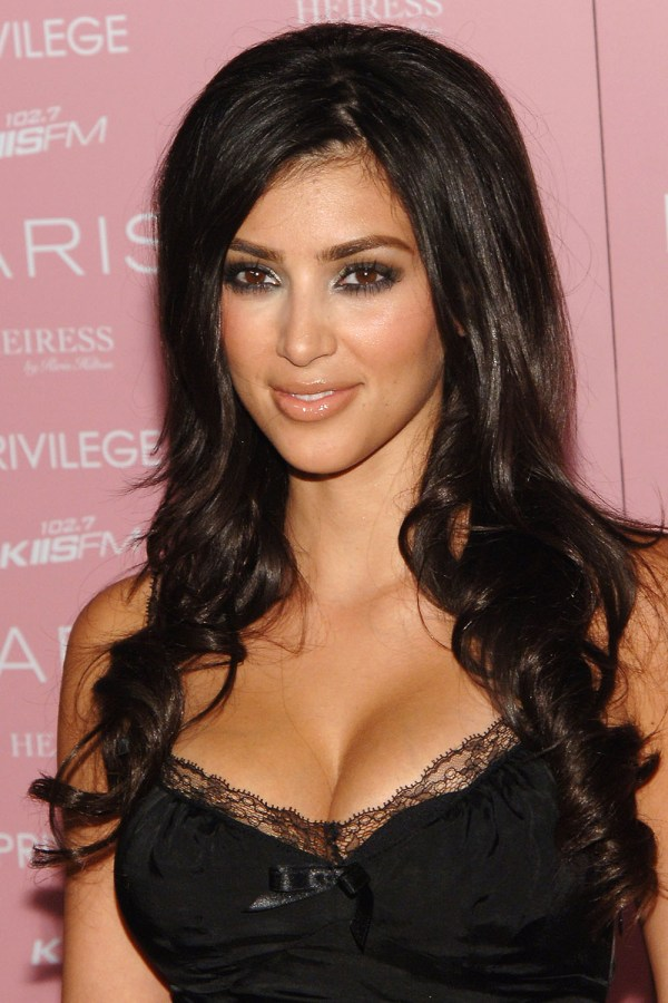 Kim Kardashian' Makeup And - Of Beauty Evolution