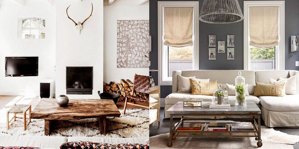 Rustic Chic Home Decor And Interior Design Ideas  Rustic