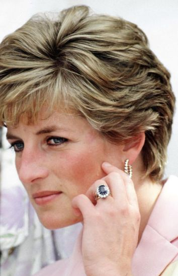 Vintage Engagement Rings Princess Diana Wedding Lady Spencer Fairytale Royal