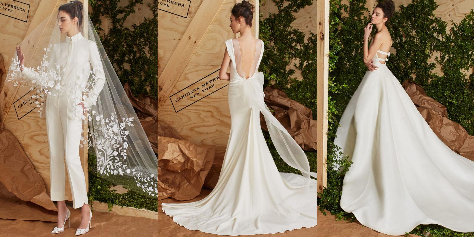 15 Carolina Herrera Spring 2017 Wedding Dresses