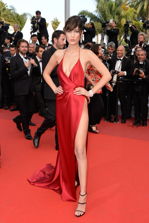 The Alexandre Vauthier red satin dress that Bella Hadid wore for the 2016 Cannes Film Festival will go down in history. The ensemble featured a built-in bodysuit to ensure that nothing slipped out.