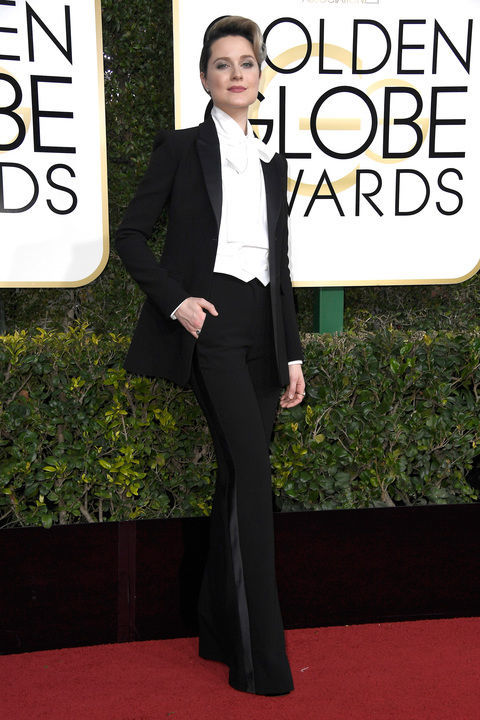 Evan Rachel Wood in custom Altuzarra