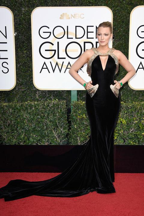 Blake Livelyin custom Atelier Versace