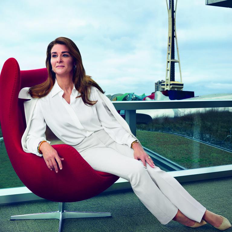 Melinda Gates The Savior in Seattle  Bill and Melinda