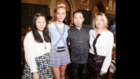 Spring 2015 New York Fashion Week Front Row Front Row