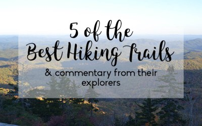 5 of the Best Hiking Trails- and Commentary From Their Explorers