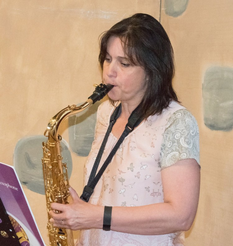 Saxophone, clare burman, community church, bury st edmunds