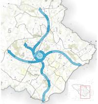 Bikeway conceptual map