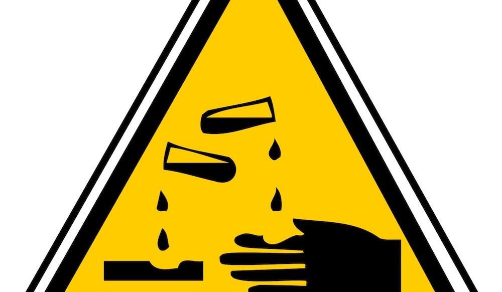 Corrosives: Acid retort