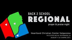 Regional Back 2 School Prayer Night