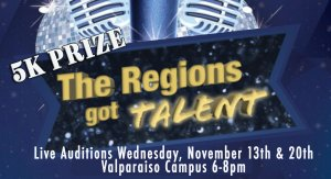 The Region's Got Talent, Valparaiso Indiana, December 22, 2019, $5,000 grand prize