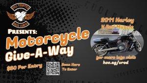 Heartland Christian Center VROD Harley Davidson Muscle Bike Raffle