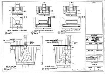 GAMBAR KERJA 2D  Arsitek Rumah  Desain Interior RP 2500