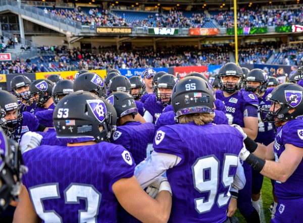 Football Wins Big in Home Opener Over 9 New Hampshire