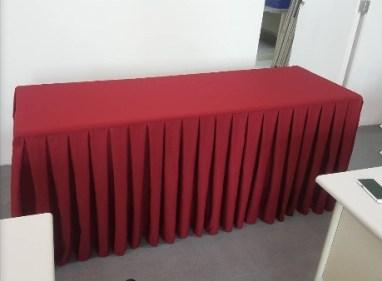 立體桌罩-四面圍(工字褶)