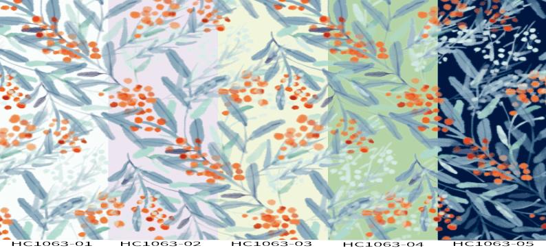 DIGI-PRINT CUSHION-HC1063 fruit flower