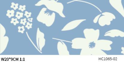 DIGI-PRINT CUSHION-HC1065 monochrome floret