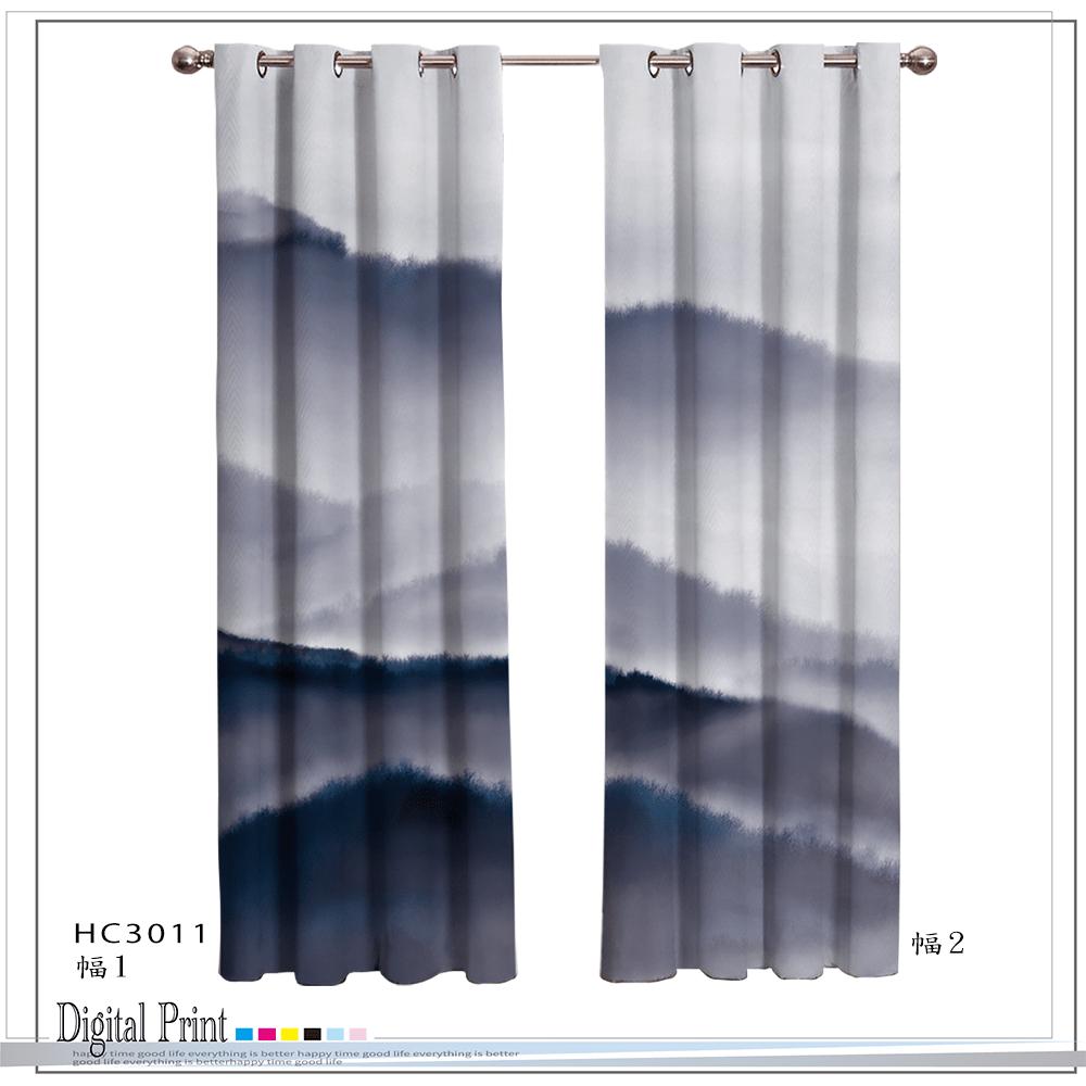 DTGI-PRINT CURTAIN-HC3011 mural mountains