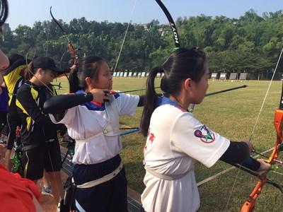 106年全國總統盃射箭錦標賽(106.11.27-12.04) - 新竹高商射箭社(隊)