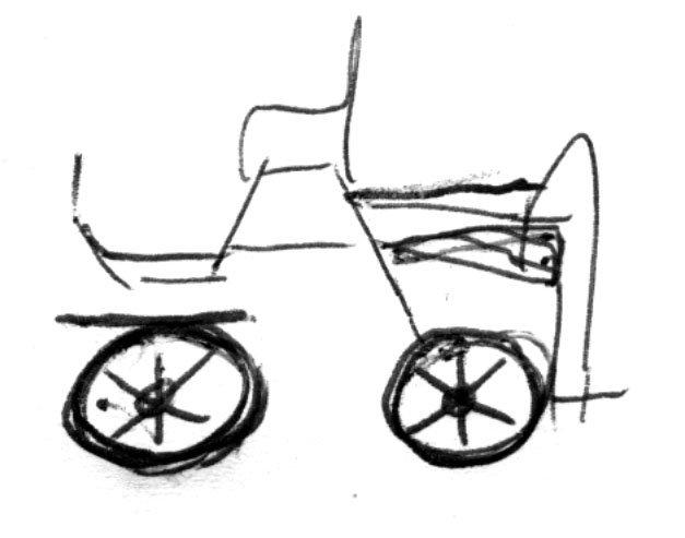 bryczka szkic 2