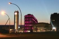 New main railway station 'Berlin Hauptbahnhof ' is pictured