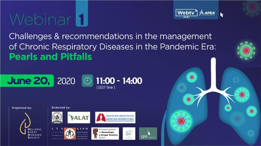 Challenges and recommendations in the management of Chronic Respiratory Diseases in the Pandemic Era- Pearls and Pitfalls