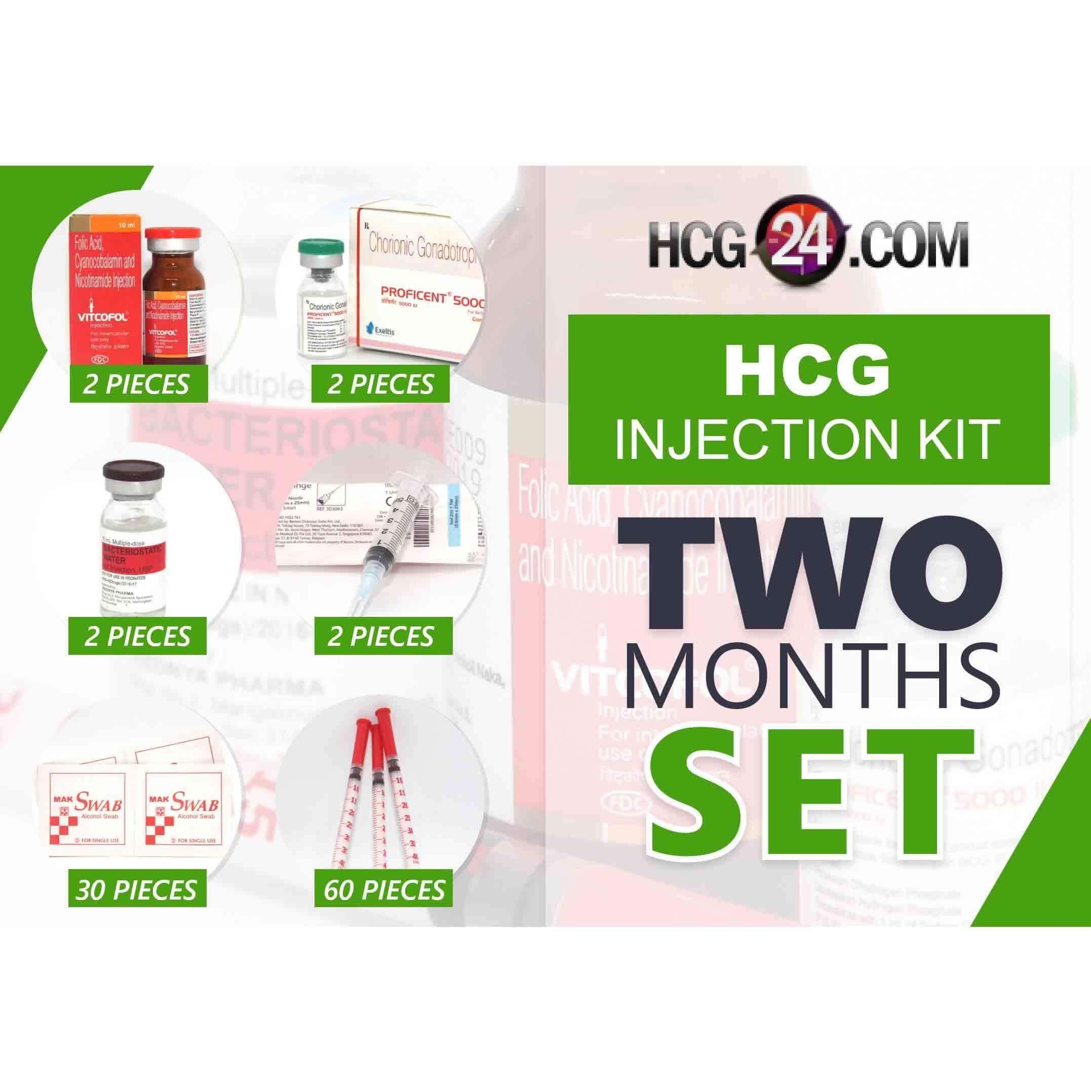 Buy HCG 2 Month Kit