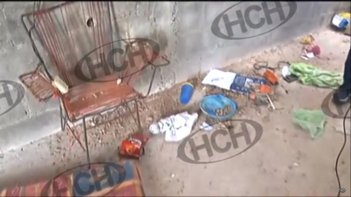 """Rescatan dos personas de una """"Casa Loca"""" en la capital"""