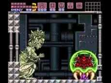 Mother Brain y Baby Metroid