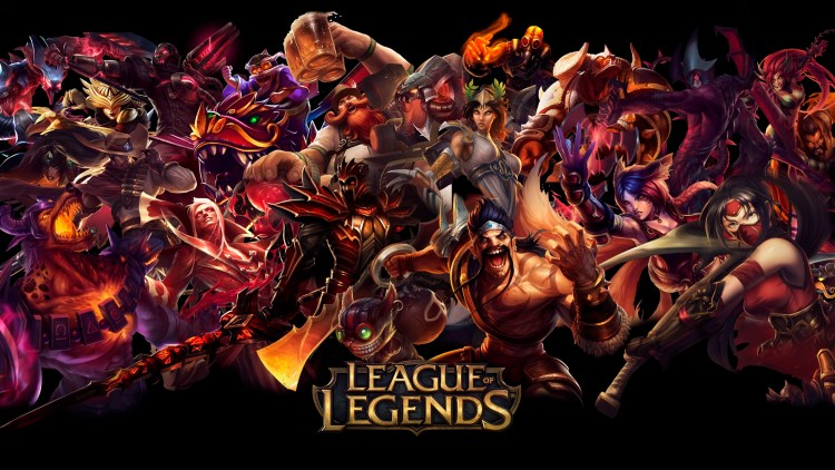LeagueOfLegendsMainScreen