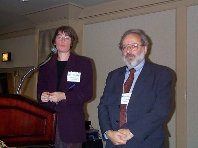 Baecker and Joanna McGrenere at the ACM Conference on Universal Usability in Arlington, VA, November 15–17, 2000.