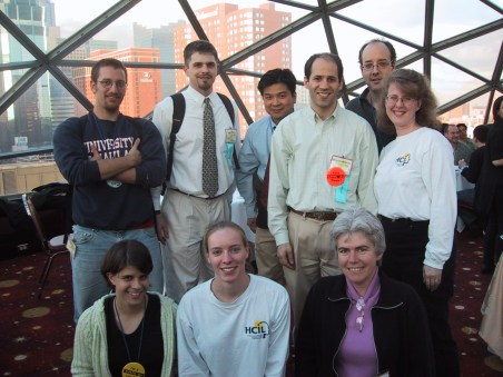 The University of Maryland Team at the ACM CHI Conference on Human Factors in Computing Systems in Minneapolis, MN, April 24, 2002.