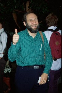 Ben Shneiderman at the ACM CHI Conference on Human Factors in Computing Systems in Monterey, California in June 1992.