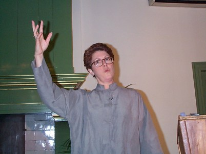 Laurel on Nielsen Tour 2000