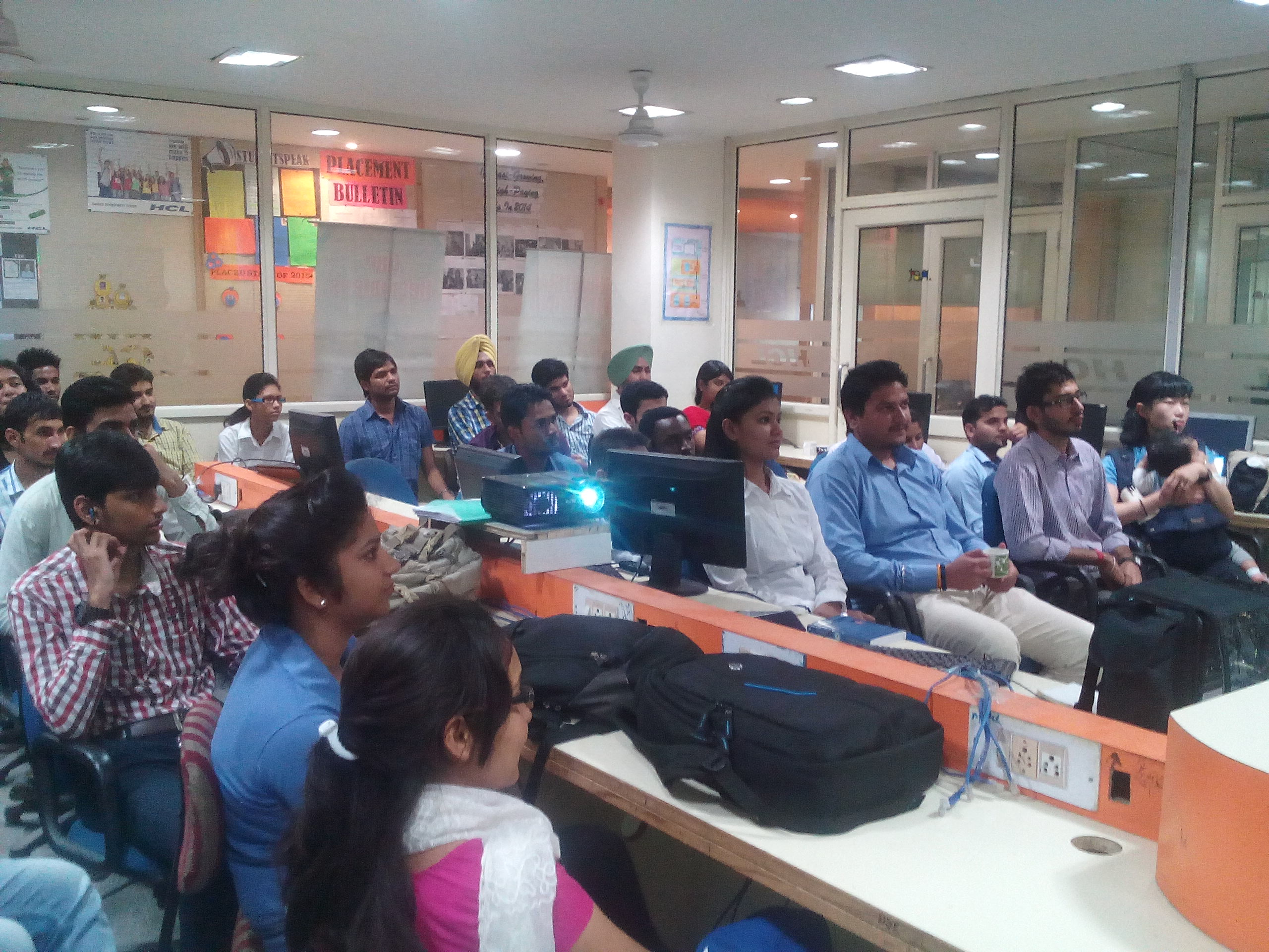 Electronics Six Weeks Months Industrial Training At Hcl Cdc