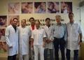 Equipe médica de Serviço de Transplantes renais do HMC