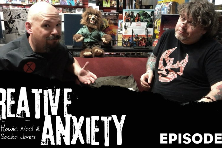 Creative Anxiety Episode 1 Feature Art