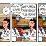 West Virginia University Hospital cartoons