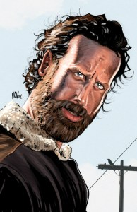 Walking Dead Art Print Rick Grimes