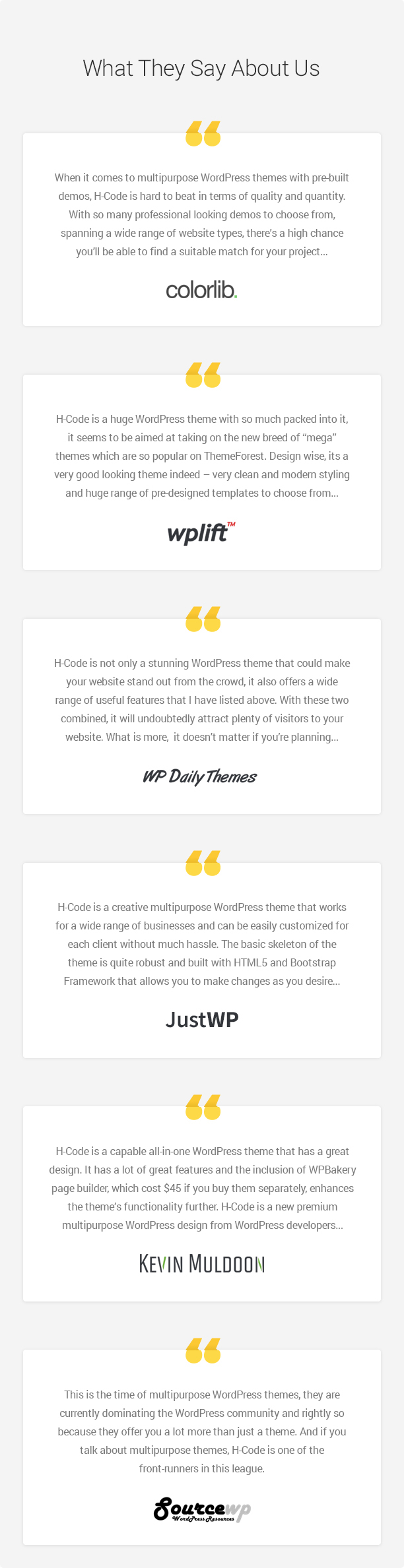 H-Code Responsive & Multipurpose WordPress Theme - 11