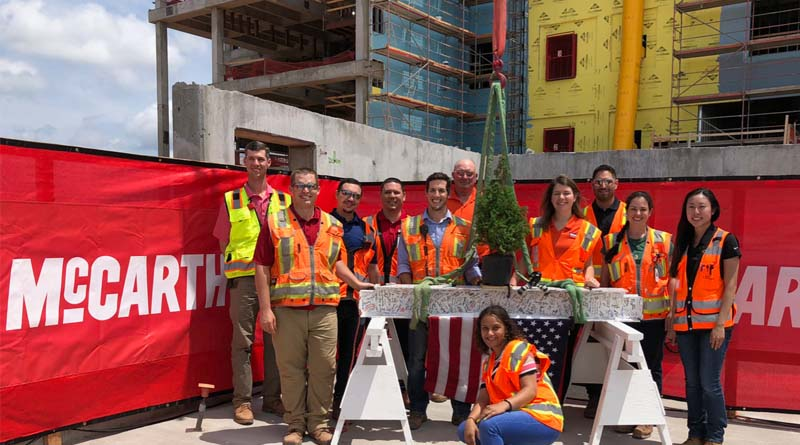 McCarthy Tops Out Oklahoma Hospital Expansion Project