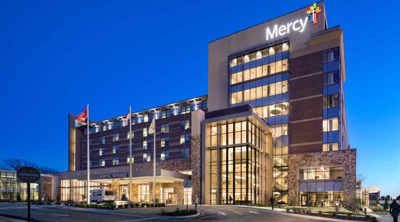 McCarthy Wraps New Tower at Arkansas Hospital Campus
