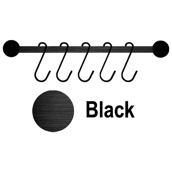 Utensil Rack Black